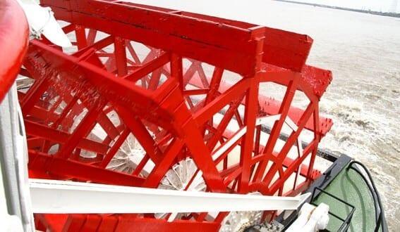 Natchez - hjulångaren i Mississippifloden