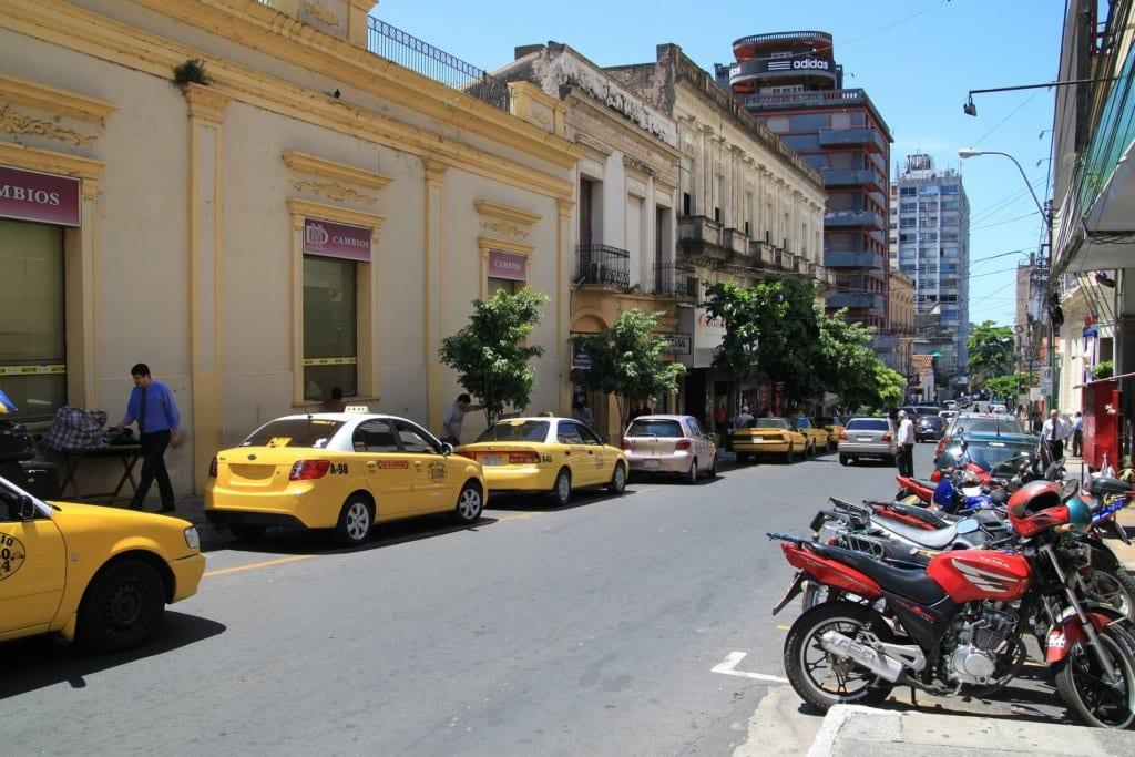 resa till paraguay